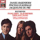 Beethoven: Piano Trios, etc / Barenboim, Zukerman, Du Pr&#233;