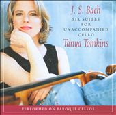 J.S. Bach: Unaccompanied Cello Suite / Tomkins