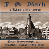 JS Bach: 4 Keyboard Concertos / Peter Seibewright, piano
