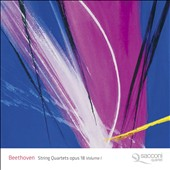 Beethoven: String Quartets, Op. 18, Vol. 1 / Sacconi Quartet