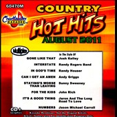 Karaoke: Chartbuster Karaoke: Country Hot Hits - August 2011