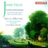 Field: Piano Concertos Vol 1 - no 1 & 2 / O'Rourke, Bamert