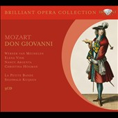 Mozart: Don Giovanni / Werner van Mechelen, Elena Vink, Nancy Argenta, Christina Hogman. Kuijken