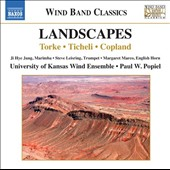 Landscapes: Torke: Jevelin; Mojave; Ticheli: Simple gifts; An American Elegy; Copland: Quiet City / Ji Hye Jung, marimba; Steve Leisring, trumpet