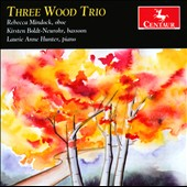 Three Wood Trio - works for oboe, bassoon & piano by Casimir-Theophile Lalliet, Madeleine Dring, Paul Carr, Peter Hope