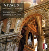 Vivaldi: Concertos for two organs / Margherita Gianola: organ; Silvio Celeghin: organ