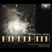 Hindemith: Symphonies, Concertos, Orchestral Music / Staatskapelle Dresden, Suitner