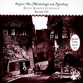Wagner: Die Meistersinger, etc / Knappertsbusch, Edelmann
