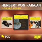 Herbert von Karajan: 3 Classic Albums - Opera Orchestral Works - Rossini & Suppe overtures; Opera Intermezzi; Offenbach & Gounod