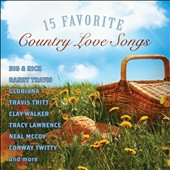 Various Artists: 15 Favorite Country Love Songs