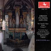 Pachelbel: The Complete Organ Works Vol 5 / Joseph Payne