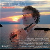 Postcards: World Piccolo, Vol. 2 - works by Vinicio Meza, Murat Ustun, Jean-Michael Damase, Miguel Taroncher, Nancy Nourse, Wilhelm Popp et al. / Jean-Louis Beaumadier, piccolo