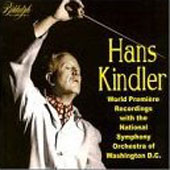 Hans Kindler - World Premiere Recordings