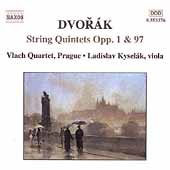 Dvor&aacute;k: String Quintet Op 1 & 97 / Vlach String Quartet