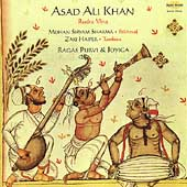 Asad Ali Khan: Ragas Purvi and Joyiga