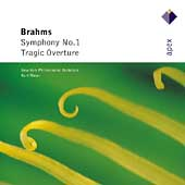 Brahms: Symphony no 1, Tragic Overture / Masur, NYPO