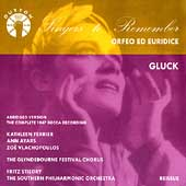 Singers to Remember - Kathleen Ferrier - Gluck
