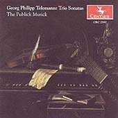 Telemann: Trio Sonatas / The Publick Musick