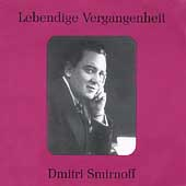 Lebendige Vergangenheit - Dmitri Smirnoff