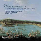 Vivaldi: Sacred Music Vol 9 / King, King's Consort, et al