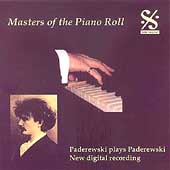 Masters of the Piano Roll - Paderewski Plays Paderewski
