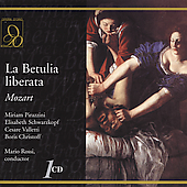 Mozart: La Betulia liberata / Rossi, Schwarzkopf, et al