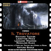 Verdi: Il Trovatore / Tucker, Price, Warren. Karl Elias, Orch. & Coro del Teatro de Roma