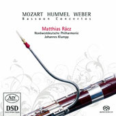 Bassoon Concertos by Weber, Mozart & Hummel / Matthias Racz, bassoon