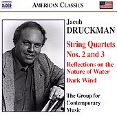 American Classics - Druckman: String Quartets