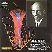 Desert Island Collection- Mahler: Symphony no 3 /Mitropoulos