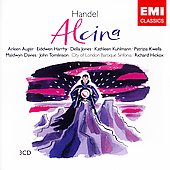 Handel: Alcina / Hickox, Aug&#233;r, Jones, Kwella