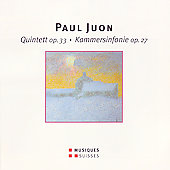 Juon: Quintett Op 33, Kammersinfonie Op 27