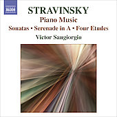 Stravinsky: Piano Music / Victor Sangiorgio