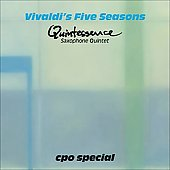 Vivaldi's Five Seasons / Quintessence Saxophone Quintet