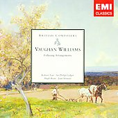 British Composers - Vaughan Williams: Folksong Arrangements for Voice & Piano / Tear, Ledger, et al