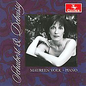 Schubert, Debussy: Solo Piano Works / Maureen Volk