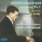 Shostakovich: Symphony 5; Gadfly Suite