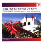 Isaac Albeniz, Enrique Granados: Spanish Guitar Music / John Williams, guitar