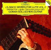 Bach: Works for Lute Vol 2 / Göran Söllscher