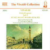 Vivaldi: Cello Concerti Vol 3 / Wallfisch, Kraemer