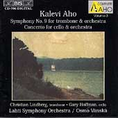 Aho: Symphony no 9, Concerto for Cello / Osmo V&#228;nsk&#228;