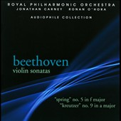 Beethoven: Violin Sonatas Nos. 5 & 9 / Jonathan Carney, Ronan O'Hora