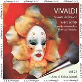 Vivaldi: Dresden Sonatas / Biondi, Alessandrini, Naddeo