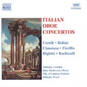 Italian Oboe Concertos / Camden, Girdwood, Ward