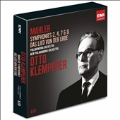 Mahler: Symphonies nos 2, 4, 7 / Otto Klemperer [6 CDs]