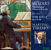 Mozart: Variations, Vol. 2 & 3