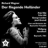 Richard Wagner: The Flying Dutchman / Anja Silja, Fritz Uhl et al.; Sawallisch (Bayreuth, 1961)