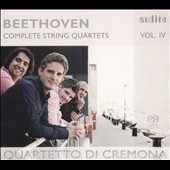 Beethoven: Complete String Quartets, Vol. 4 - Quartets, Op. 18/1; Op. 131 / Quartetto di Cremona