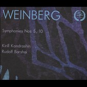 Weinberg: Symphonies Nos. 5 & 10 / Barshai, Moscow CO; Moscow PO