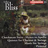 Bliss: Checkmate Suite, Hymn to Apollo, etc / Handley, et al